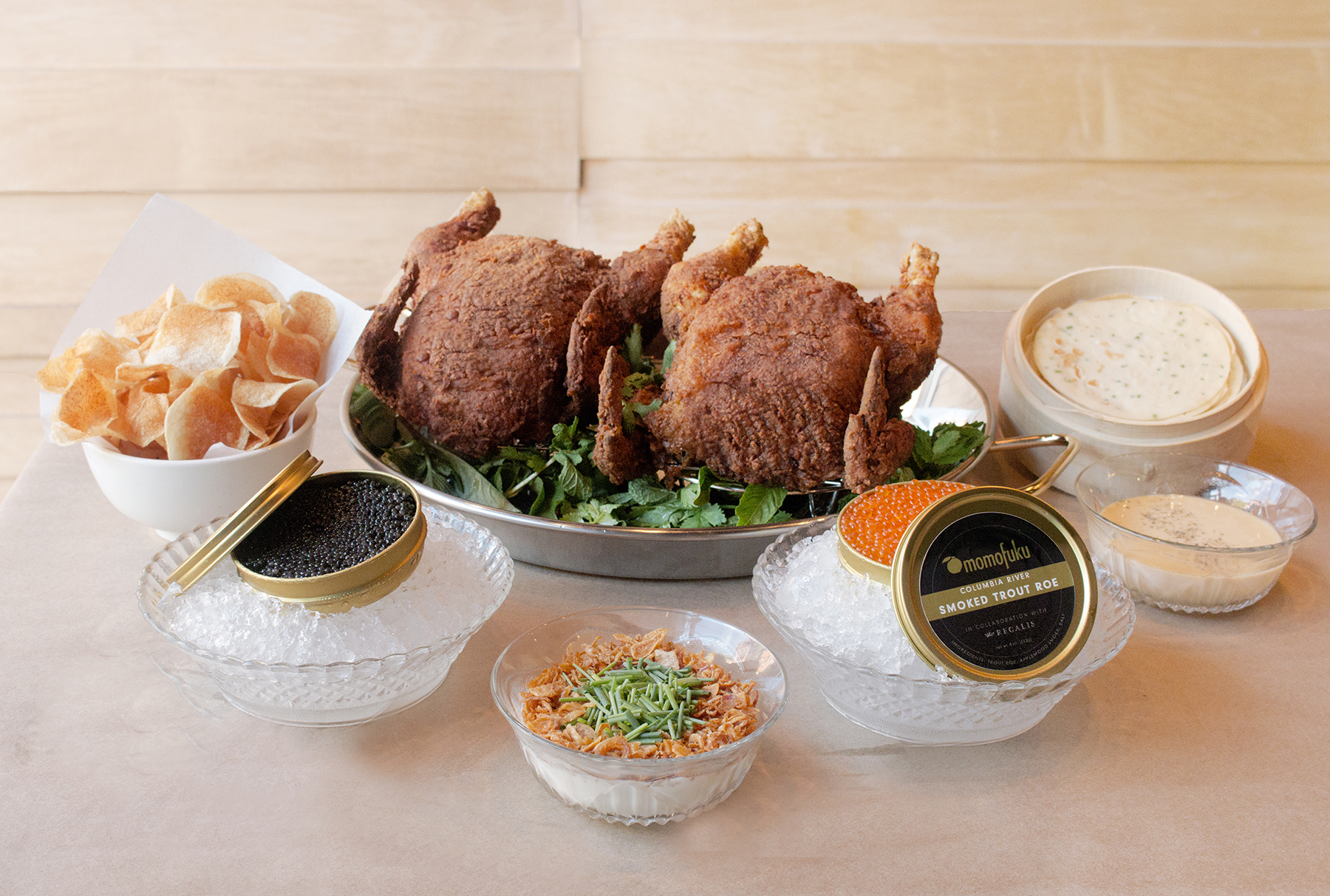 CAVIAR AND FRIED CHICKEN