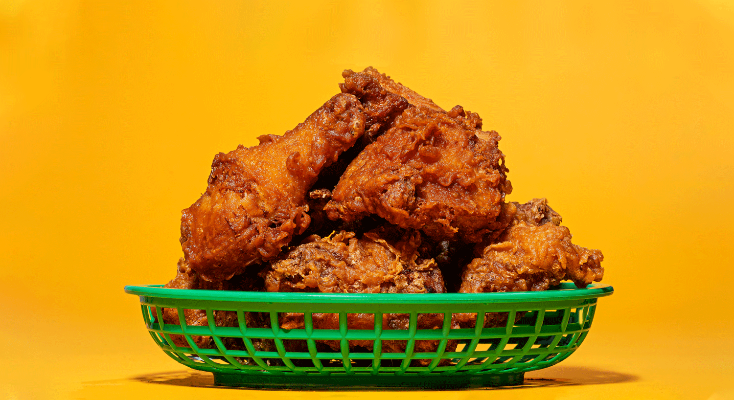 basket of chicken