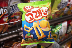 Orion Seafood Shape Crispy Snack