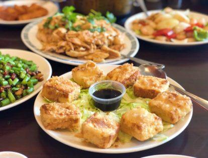 LA Chinatown Food Spread