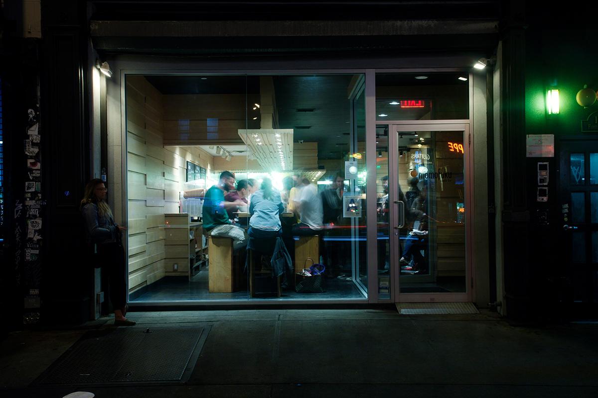 Noodle Bar Exterior