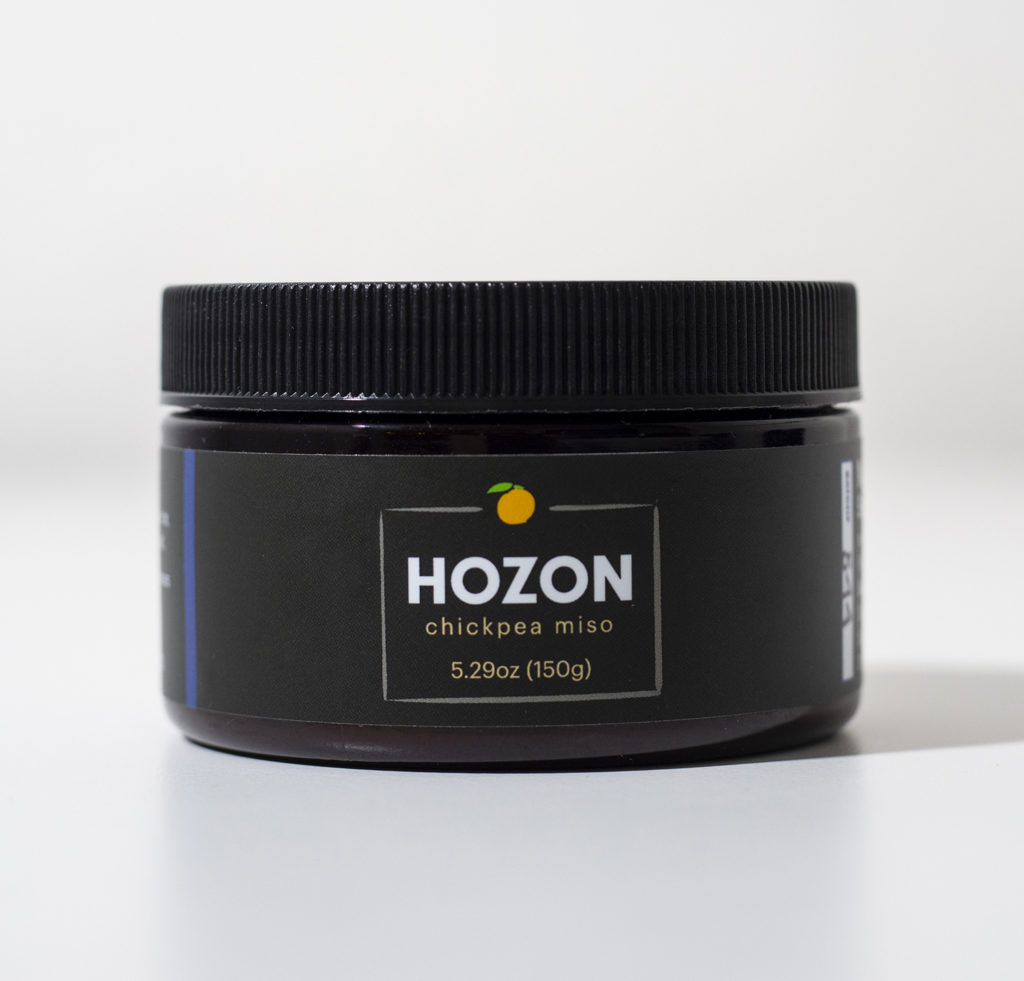 jar of chickpea hozon