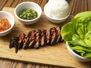 Grilled Hangar Steak
