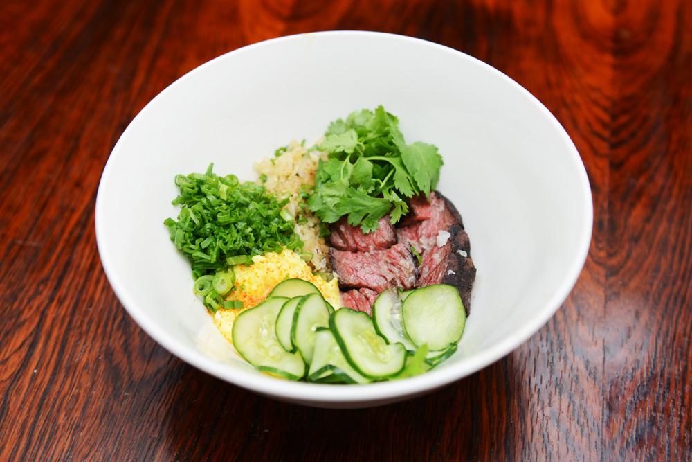hanger steak ssam