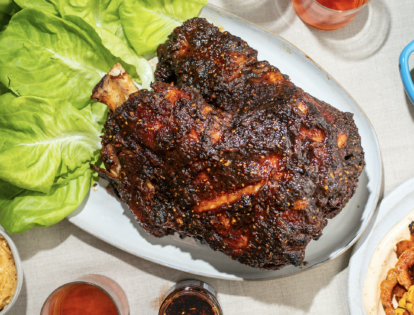 honey glazed bo ssam