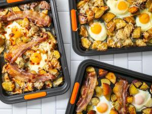 breakfast potato sheet pans