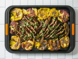steak sheet pan